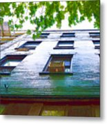 Building Closeup In Manhattan 17 Metal Print