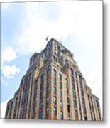 Building Closeup In Manhattan 2 Metal Print