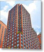 Building Closeup In Manhattan 6 Metal Print