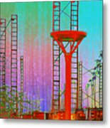 Building In The Southwest Metal Print