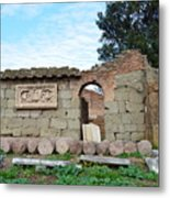 Building Of Ancient Rom Metal Print