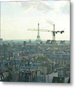Building Paris Metal Print