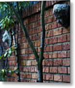 Building Walls Metal Print