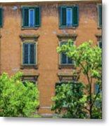 Buildings Opposite The Vatican Museum Metal Print