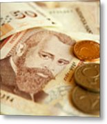 Bulgarian Money Metal Print