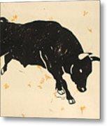 Bull 1 Metal Print