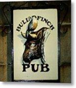 Bull And Finch Pub Metal Print