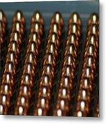 Bullet Points Metal Print