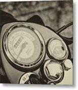 Bullet Speedometer Metal Print