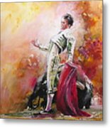 Bullfight 24 Metal Print
