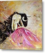 Bullfight 74 Metal Print