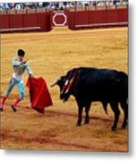 Bullfighting 22 Metal Print
