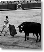Bullfighting 22b Metal Print