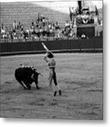 Bullfighting 36b Metal Print