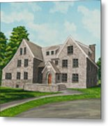 Bunch House Metal Print