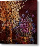 Bunch Of Dried Flowers  Metal Print