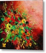 Bunch Of Flowers 0507 Metal Print by Pol Ledent