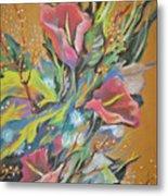 Bunch Of Flowers Metal Print