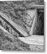 Bunkers At Foort Pulasi Metal Print