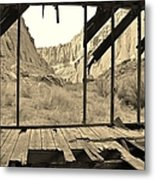 Bunkhouse View 5 Metal Print