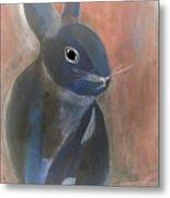 Bunny A Metal Print