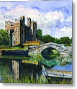 Bunratty Castle Metal Print