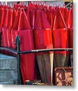 Buoys For The Mississippi Metal Print