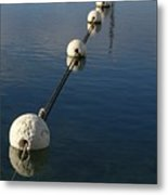 Buoys In Aligtnment Metal Print