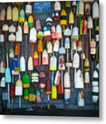 Buoys, Martha's Vineyard Metal Print