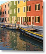 Burano Italy 1 Metal Print