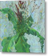 Burdock Leaves  Metal Print