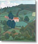 Burford Farm, Devon, 1918 Metal Print