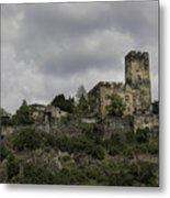 Burg Gutenfels 03 Metal Print