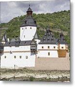 Burg Pfalzgrafenstein In Kaub Germany Metal Print