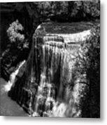 Burgess Lower Falls 2 Metal Print
