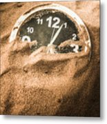 Buried In The Sands Of Time Metal Print