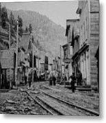 Burke Idaho Ghost Town In Its Prime Metal Print
