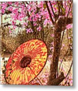 Burmese Spring Metal Print