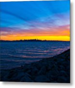 Burn Across The Bay Metal Print