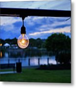 Burn Brighter Metal Print