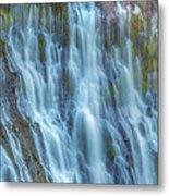 Burney Falls Detail Metal Print
