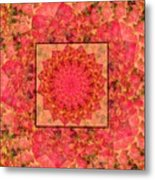 Burning Bush Floral Design  Metal Print