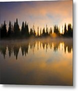 Burning Dawn Metal Print
