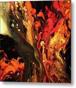 Burning Desire Metal Print