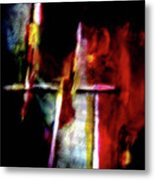 Burning Legacy Metal Print