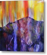 Burst Of Colour Metal Print