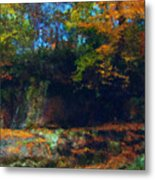 Bursting Autumn Cheer Metal Print