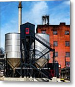 Burton Tanks Metal Print