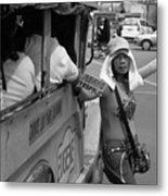 Bus To South Mall Metal Print