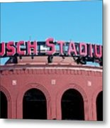 Busch Stadium Ball Park Metal Print